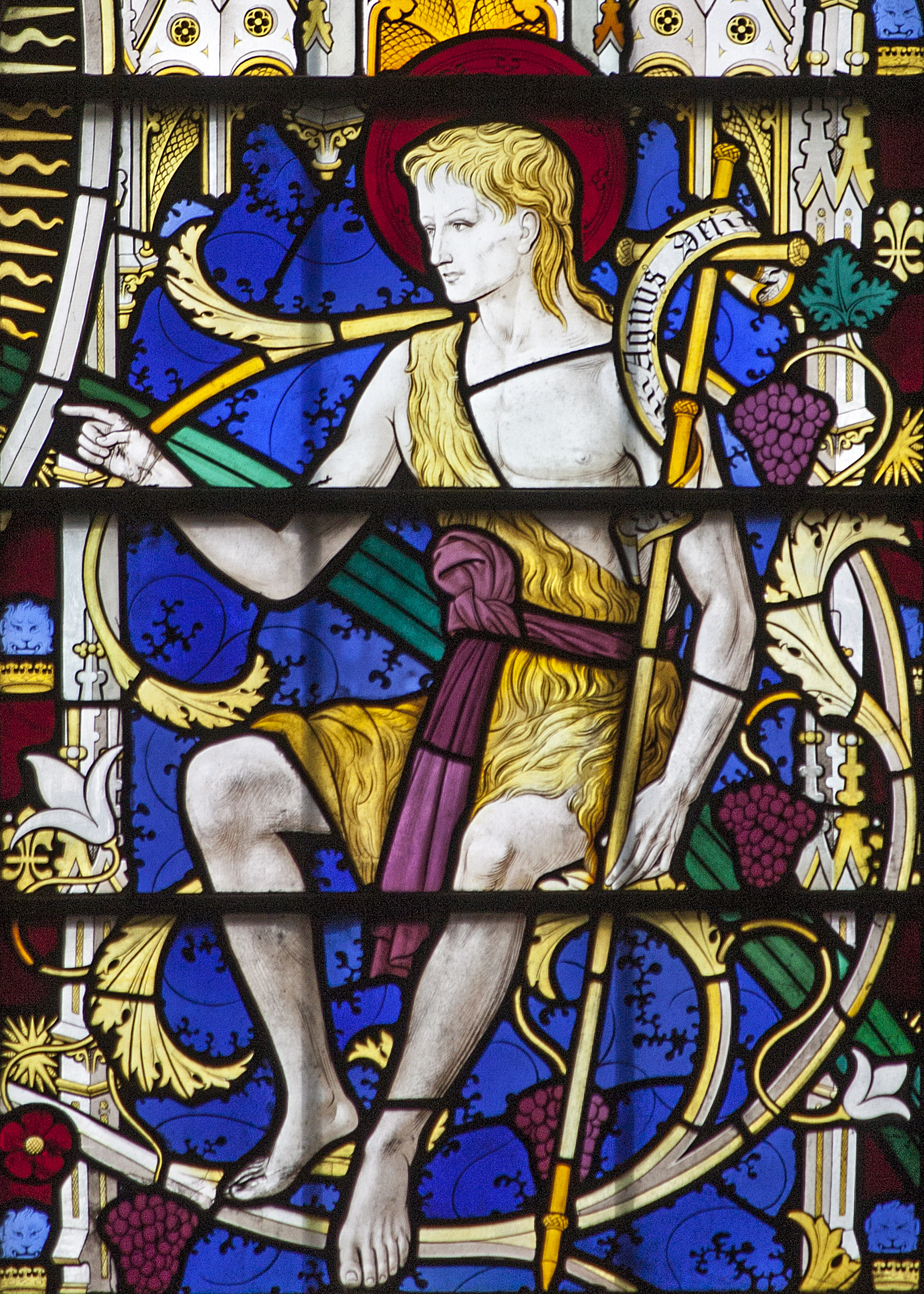 Saint Jean Baptiste – Chapelle de la Résurrection, Pusey House, Oxford.