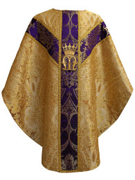 Chasuble mariale