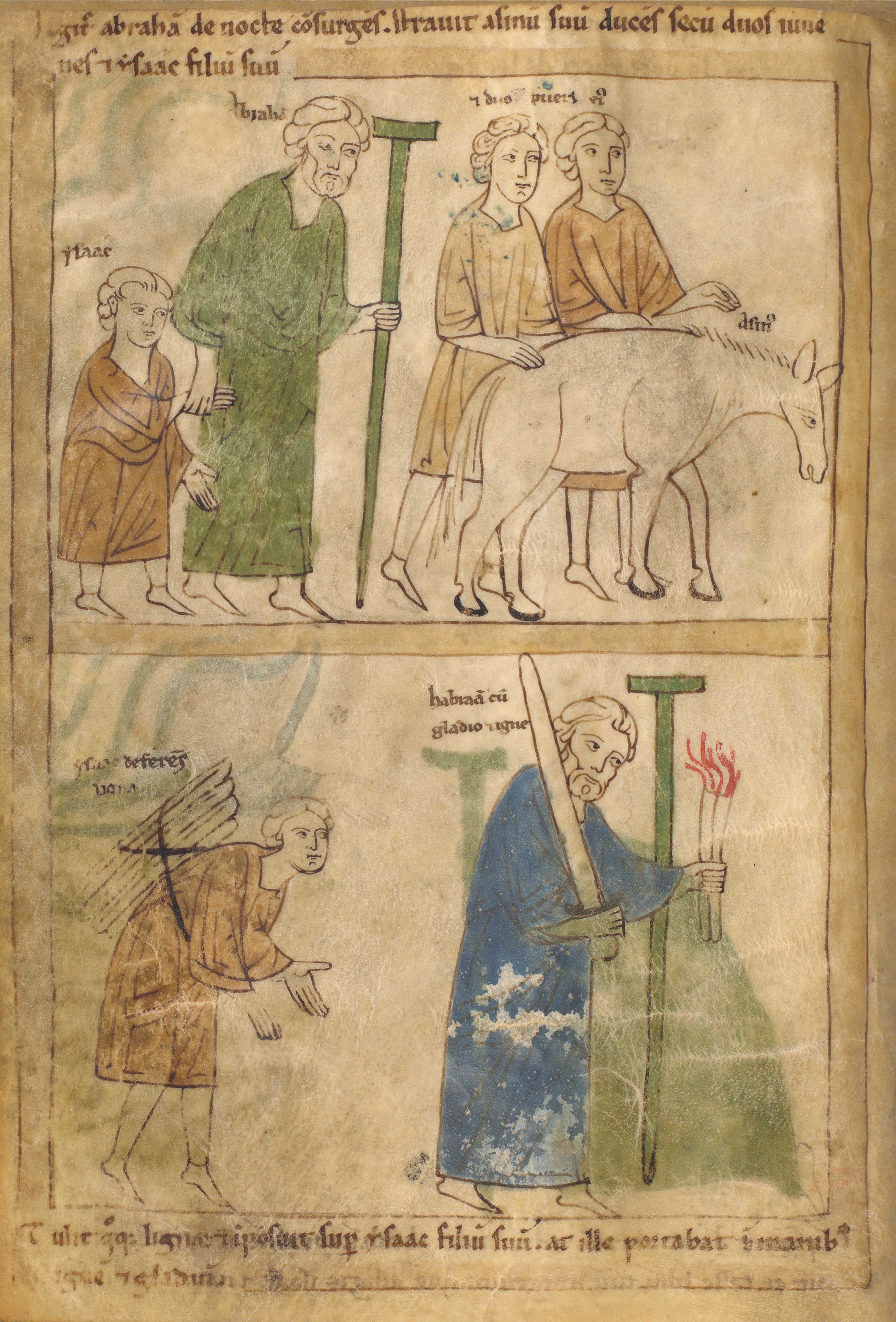 Seconde Bible de Pampelune, folio 20v.